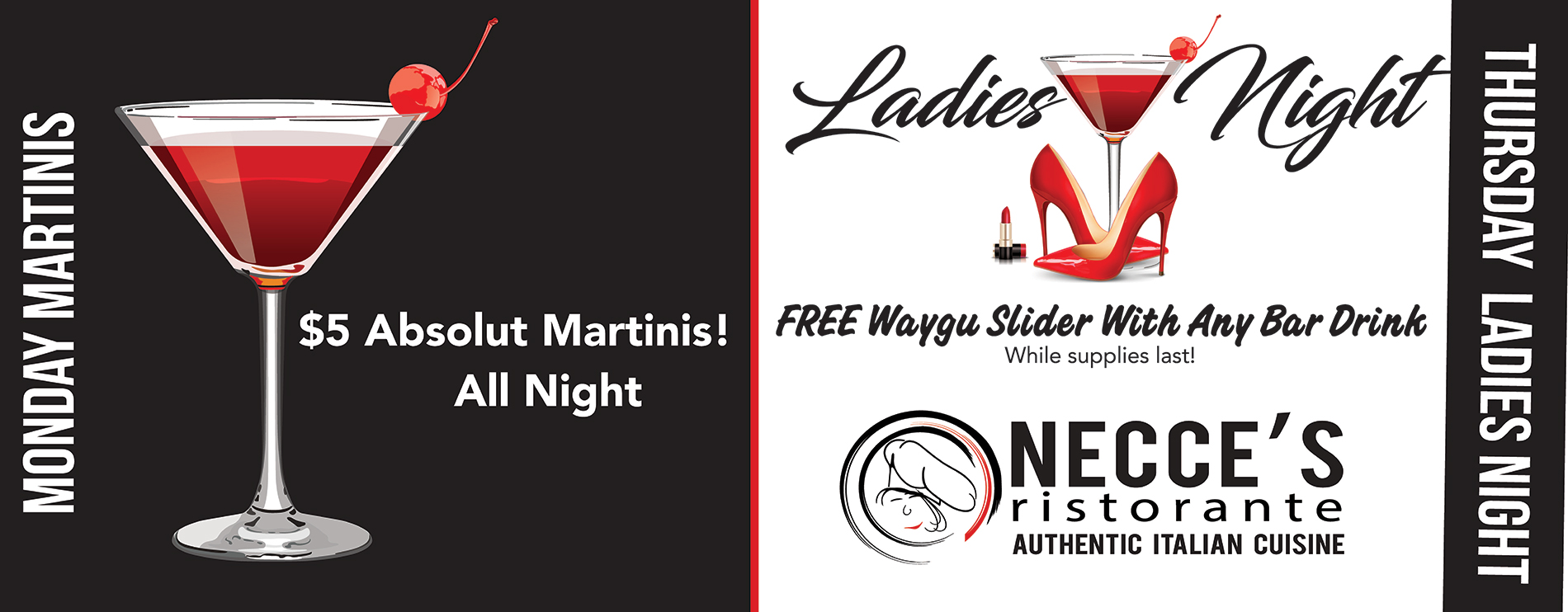 Ladies Night at Necce's Ristorante